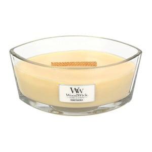 Vonná sviečka WoodWick Zimolez, 453 g, 50 hodín
