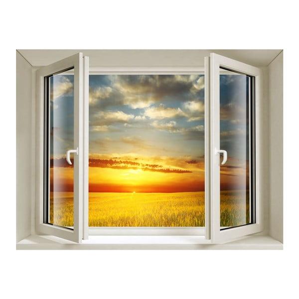 3D samolepka Fenêtre Sunset