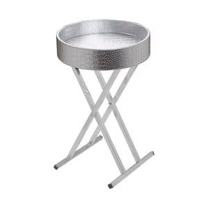 Stolík Circular Tray Silver