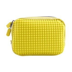 Pixelová príručná taštička, yellow/yellow