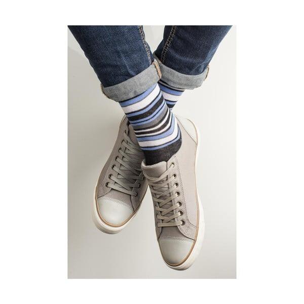 Sada 3 párov unisex ponožiek Funky Steps Guste, veľkosť 39/45