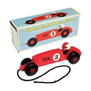 Detské drevené ťahacie autíčko Rex London Formule