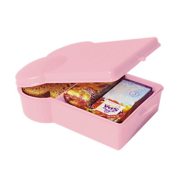 Svetloružový desiatový box PT KITCHEN Lunchbox