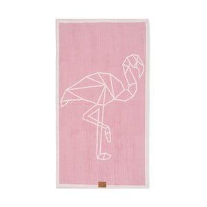 Osuška Beach Flamingo, 160x90 cm