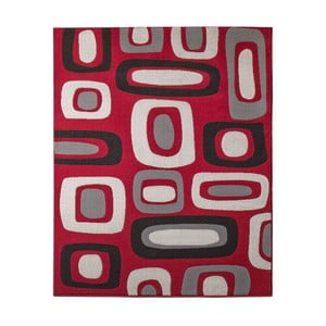 Koberec Hanse Home Hamla Willy Red, 80 x 150 cm