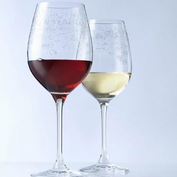 Sada 6 pohárov na biele víno LEONARDO Chateau, 410 ml