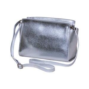 Strieborná kabelka z pravej kože Andrea Cardone Mattia
