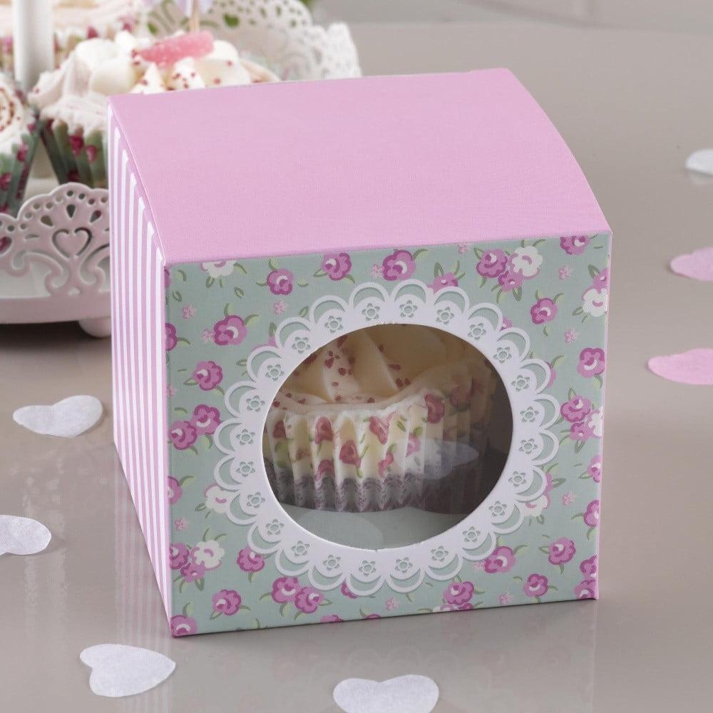 Sada 5 papierových krabíc na Cupcake Neviti Frills and Spills