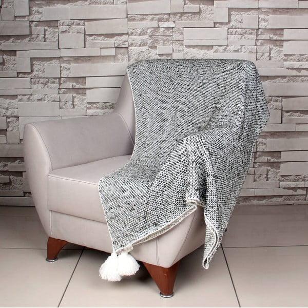 Bielo-čierna deka Tete