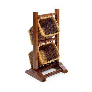 Ratanové košíky so stojanom Moycor Auxiliary