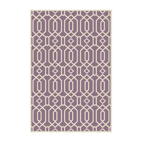 Vinylový koberec Rejilla Lila, 100x150 cm