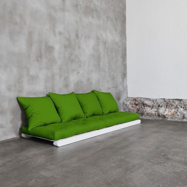 Leňoška Karup Figo, White/Lime, 70 cm