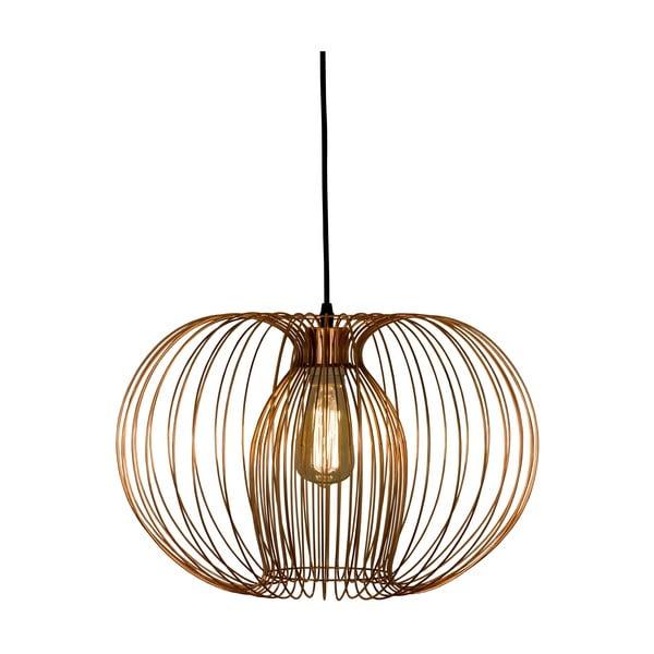 Závesné svietidlo Scan Lamps Memphis Copper, ⌀45cm