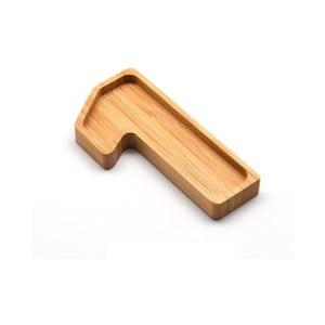 Bambusový servírovací tanierik Bambum Numero One