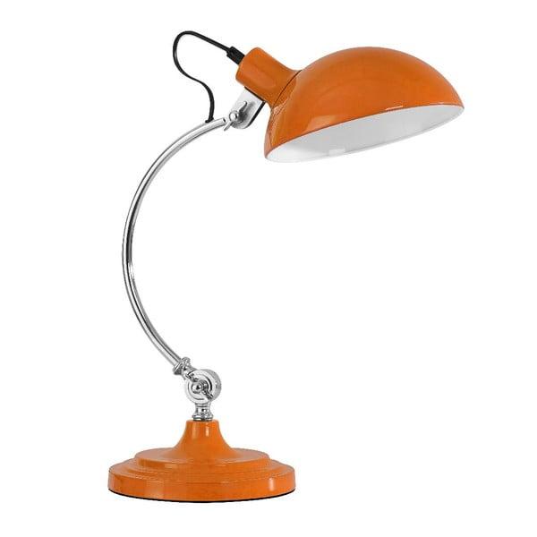 Stolná lampa Orange Chrome