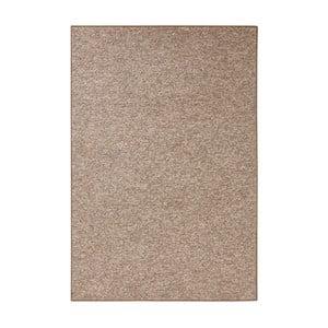 Koberec BT Carpet Wolly v hnedej farbe, 80 × 150 cm