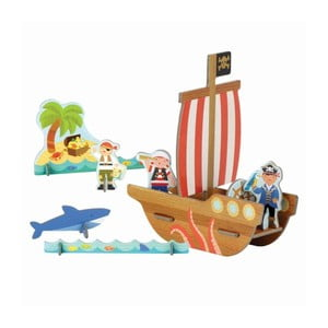 3D puzzle Petit collage Pirate Ship