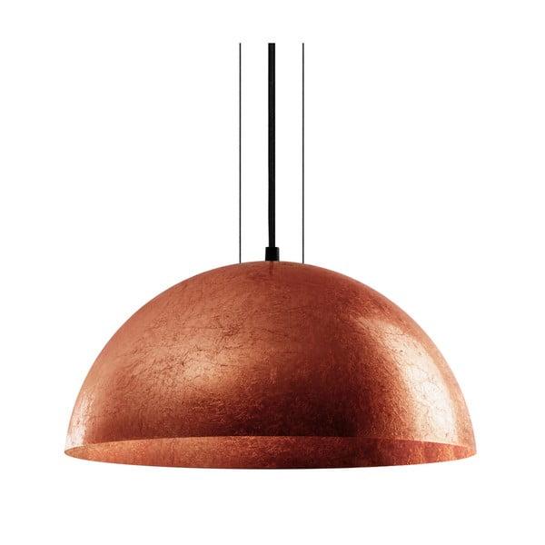Stropná lampa Cuatro, medená/čierna, veľkosť L