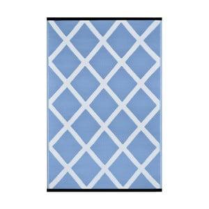 Modro-biely obojstranný vonkajší koberec Green Decore Silenco, 120×180cm