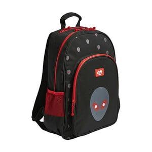 Čierny školský batoh TINC Alien