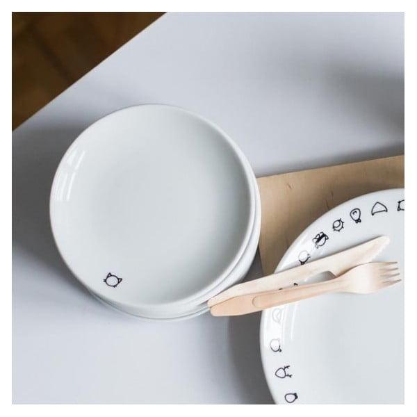 Dezertný tanier Animals, 17 cm