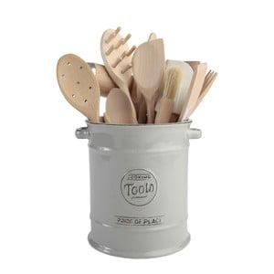 Sivá keramická dóza na kuchynské náradie T&G Woodware Pride of Place