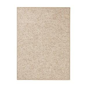 Béžovohnedý koberec BT Carpet Wolly, 200 × 300 cm