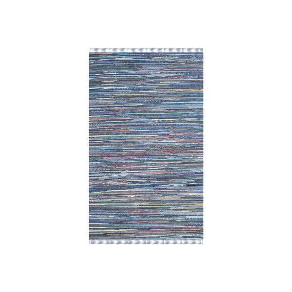 Koberec Elena 121x182 cm, modrý