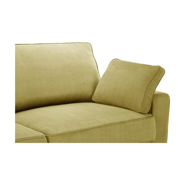 Žltá trojdielna sedacia súprava Jalouse Maison Serena