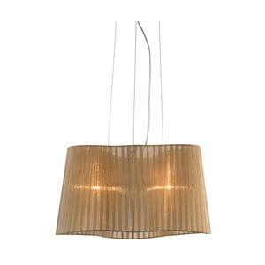 Hnedé závesné svetlo Markslöjd Vinsingso 46 cm