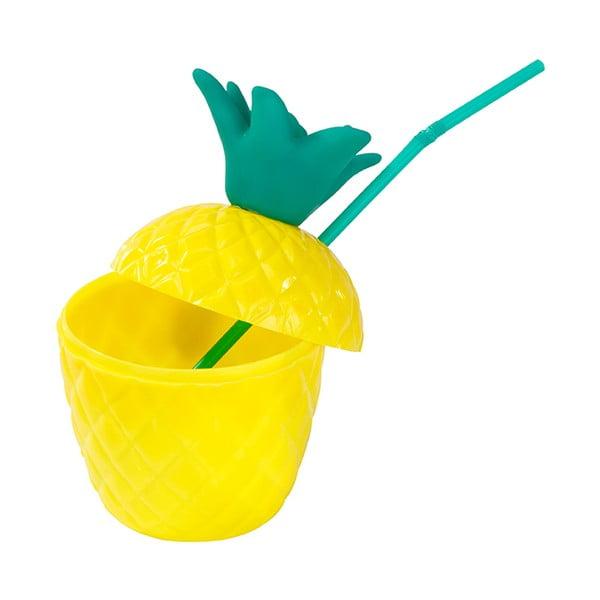 Plastový hrnček Talking Tables Fiesta Pineapple