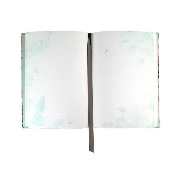 Linajkový zápisník A5 Botanique by Portico Designs, 256stránok