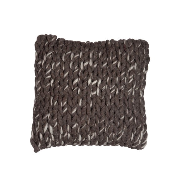 Vankúš J-Line Brown Cotton, 45x45 cm