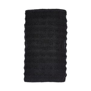 Čierny uterák Zone One, 50x100cm