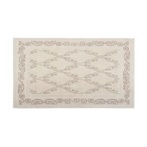 Bavlnený koberec Razi 60x90 cm, krémový