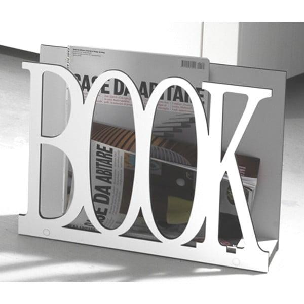 Stojan na časopisy Book White