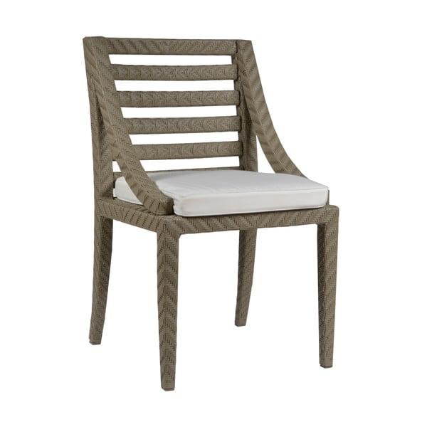 Zahradné stoličky s podsedákmi Franzo Ecru