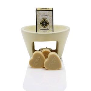 Aromalampa s vonnými voskmi s vôňou vanilky Aromabotanical Sweet Home, doba horenia 30hodín