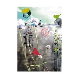 Plagát Mon Petit Art A la Plage, 85×58 cm
