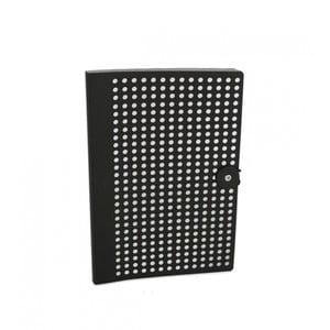 Čierny zápisník B5 Portico Designs Laser