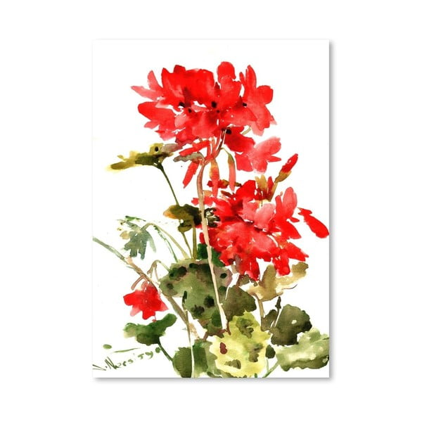 Plagát Geranium od Suren Nersisyan