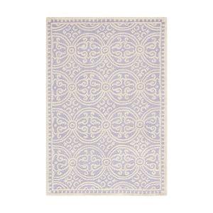 Vlnený koberec Marina Light Purple, 152x243 cm