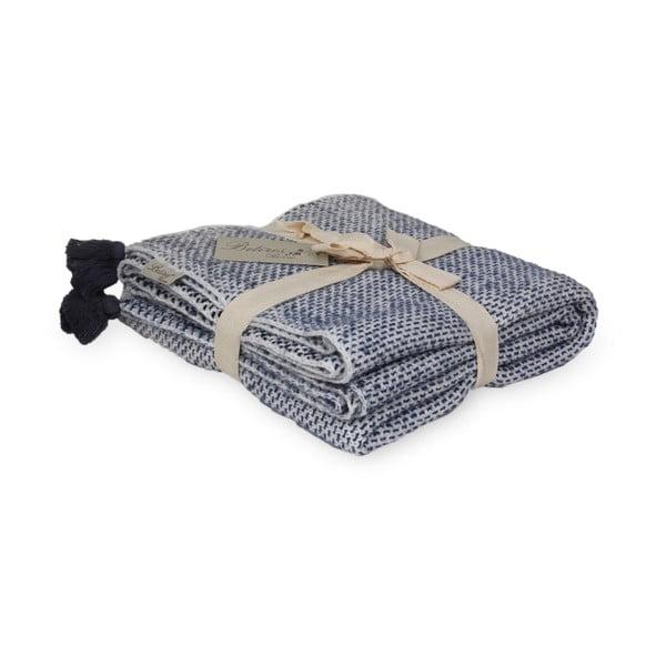 Modro-biela deka Tete