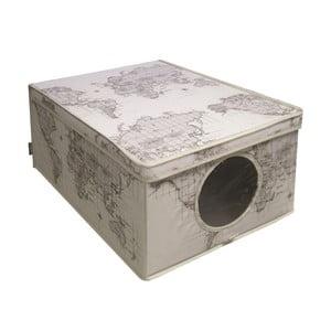 Úložný box Maps, 50x42 cm