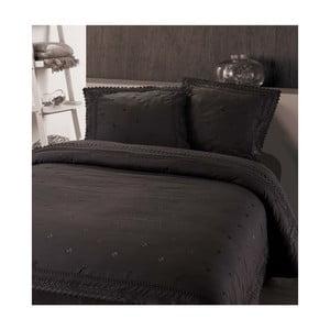 Tmavosivé obliečky z mikroperkálu Sleeptime Rio, 240 x 220 cm