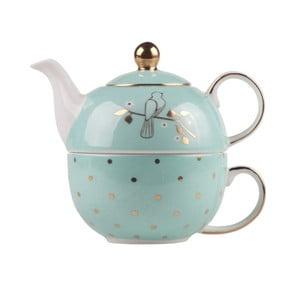 Sada kanvičky na čaj a hrnčeka Bombay Duck Miss Darcy