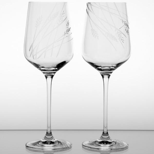 Ateliér Žampach, set 2 ks pohárov na červené víno Timotejka