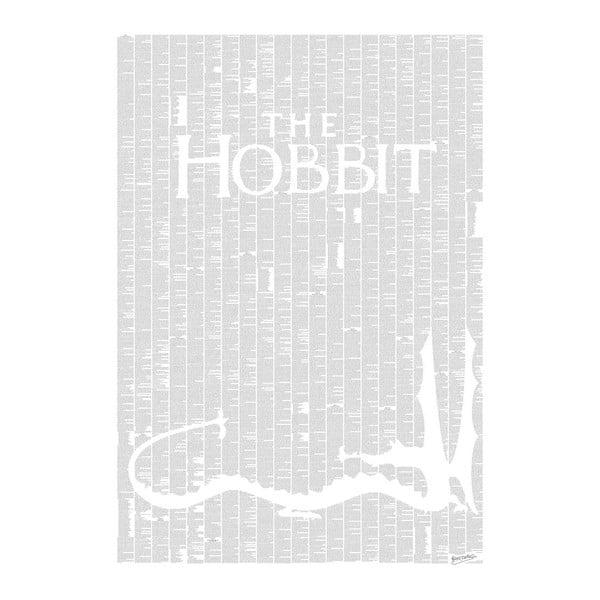Knižný plagát Hobit, 70x100 cm