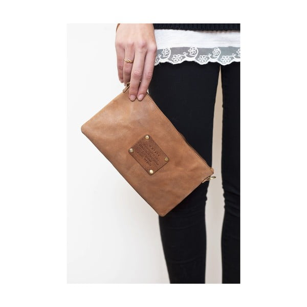 Hnedá kožená kabelka O My Bag The Betsy