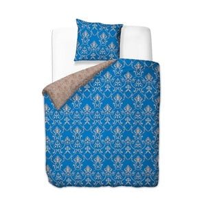 Modré obliečky z mikrovlákna DecoKing Chandelier, 135×200cm